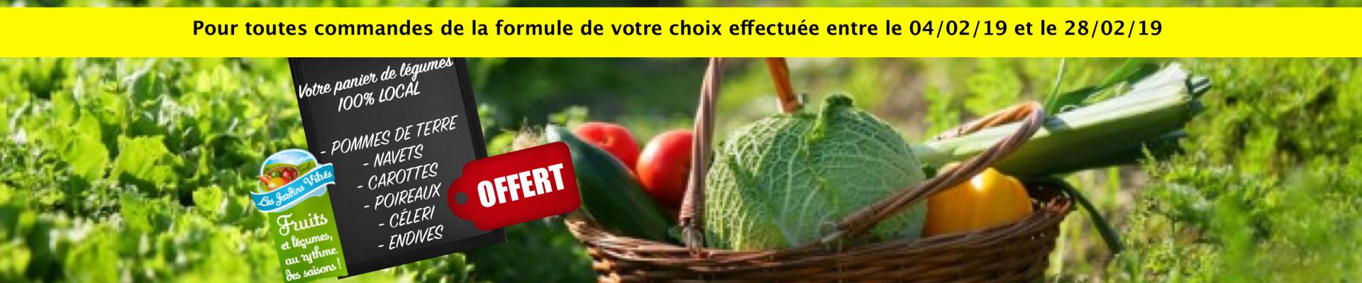 Panier legumes février 2019